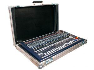 flight case console son